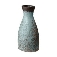 "August Grove Rustic Watering Vase Size: 16"" H x 8"" W x 6"" D, Color: Persian"