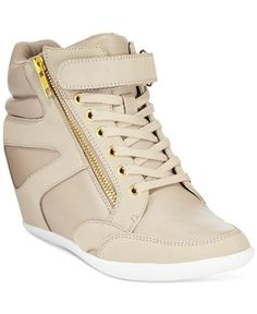 Thalia Sodi Azar High-Top Wedge Sneakers, Only at Macy's