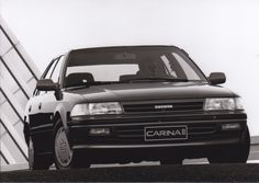 Toyota Carina II (works photo)