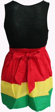 A rasta dress i could wear...to work!!