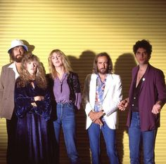 Fleetwood Mac photographed by Sam Emerson in 1979