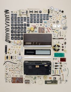 Old Flip Clock, by Todd McLellan - 20x200 (from $60)