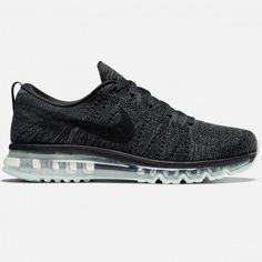 online store 1dc49 f9b65 Nike Flyknit Air Max (Black Dark Grey-Anthracite-Black)