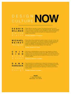 Image result for moma lecture poster