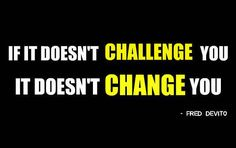 Challenge yourself! You will surprised at what you will be able to get through! NEXT LEVEL SPEED