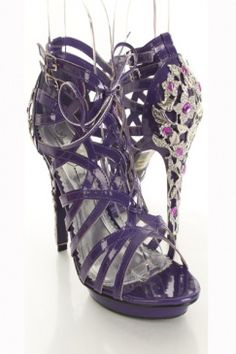 amiclubwear.com $25.99    I love the purple & the heel I bet they're hard to get on & off though!!