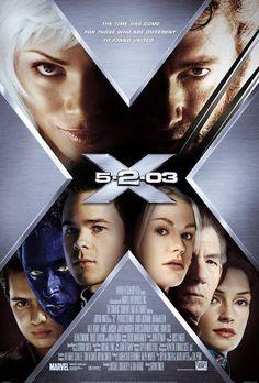 ★★★★X-men 2: X2 (2003) Actie/Sciencefiction, Wanneer een onbekende, vermoedelijk een mutant met buitengewone krachten, de president aanvalt krijgen de mutanten met nog meer argwaan en discriminatie te maken dan al het geval was. Er komt bredere steun in de samenleving voor een registratieplicht voor mutanten. Militair leider William Stryker is één van de grootste voorstanders van dit plan, en leidt een aanval op de X-Men opleiding.