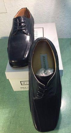 c27c6829819a Hugo Vitelli Boys  New Solid Navy Dress Shoes K480NVY-CC See Photos   HugoVitelli
