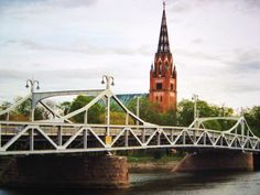 Pori bridge and church, May 2005