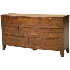 Bahama Dresser 8 Drawer, Jamaican Sunset tropical dressers chests and bedroom armoires Reclaimed Wood Dresser, Solid Wood Dresser, Modern Dresser, Dresser Furniture, Funky Furniture, Furniture Design, Bedroom Furniture, Recycled Timber Furniture, Houses