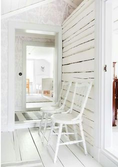 Summer House Interiors, Cottage Ideas, Scandinavian Style, Beach House, Porch, Lisa, Sweet Home, Stairs, Cozy