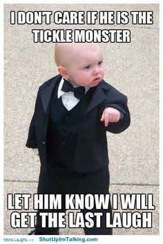 Ha! I can't get over this kid! shutupimtalking.com has hilarious memes!