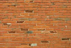 Removing Plaster From an Indoor Brick Wall Red Brick Fireplaces, How To Clean Brick, Exposed Brick Walls, Red Bricks, Wet Look, Indoor, Outdoor Decor, Enemies, High Gloss