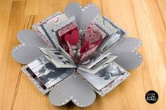 PDF instructions: explosion box, surprise gift for your loved ones - photos and illustrations The Effective Pictures We Offer You About diy anniversary dinner A quality picture can tell you many thing Surprise Gifts For Him, Presents For Him, Presents For Boyfriend, Boyfriend Gifts, Anniversary Surprise, Anniversary Gifts, Handmade Birthday Cards, Happy Birthday Cards, Handmade Cards