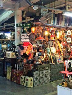 Seoul Folk Flea Market. Author's own image.