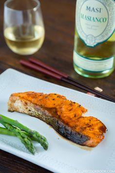 Terikyaki Salmon with MASI MASIANCO