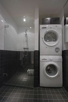 I really like this unique photo – Laundry Room Laundry Bathroom Combo, Laundry Room Design, Downstairs Bathroom, Bathroom Design Small, Casa Top, Laundry Room Inspiration, Bathroom Renovations, Bathroom Interior, Home