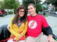 Amy and Sheldon Costume