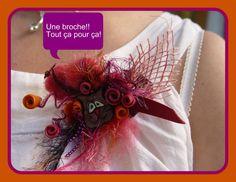 Tutoriel Broche en laine cardée (Arts du fil) - Femme2decoTV