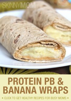 Try these PB & Banana wraps!! They're delicious and perfect for many occasions!
