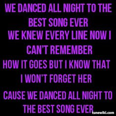 Best Song Ever - One Direction Best Song Ever, Best Songs, Song Quotes, Song Lyrics, 1d Songs, Midnight Memories, 1direction, Im In Love, One Direction