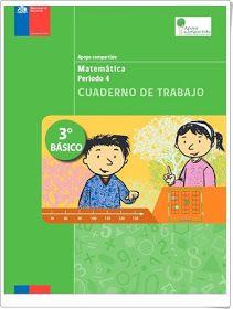 Cuadernos de trabajo de Matemáticas de 3º de Primaria (Ministerio de Educación de Chile)