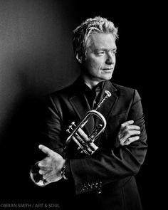 FIlm Noir: Chris Botti - Trumpeter Chris Botti photographed for ART & SOUL
