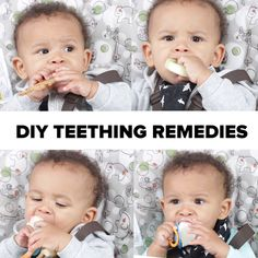 5 Ways To Ease Teething Pain #baby #parenting #DIY #teething