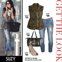 @Suzy Sissons Shier gives you rich fashion at a low cost! Arm yourself with some of the hottest #trends! Would you wear this #army zip up?