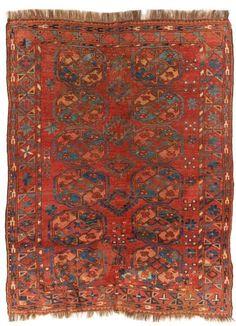 VAN-HAM Kunstauktionen Ersari.  19th Century. 182 x 144cm.