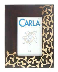 13,20€ Portafotos de madera marrón/beig 10x15cm