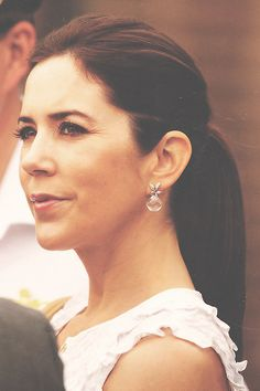 And a close up of those amazing Ole Lynggaard Winter Frost Earrings worn by Princess Mary and available from http://www.masterjewellers.com.au/