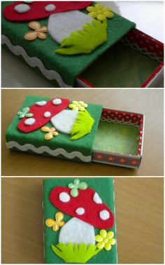 Felt box by Dawn James