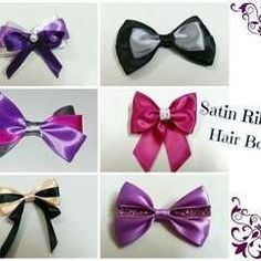 How to make hair bows · Craft tutorials and inspiration categorized as Hair Bows on Cut Out + Keep