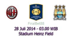 Prediksi Bola AC Milan Vs Manchester City 28 Juli 2014