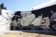 Ericailcane New Mural Mexico DF, Mexico