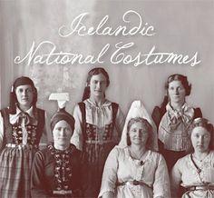 Icelandic National Costumes