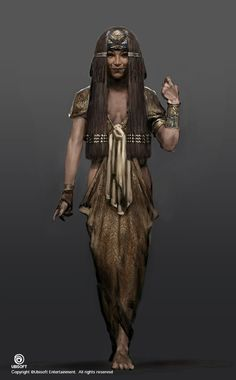 LADY M Assassin's Creed: Origins character concept art by Jeff Simpson Egypt Concept Art, Game Concept Art, Character Concept, Character Art, Character Design, Assassins Creed Origins, Assassins Creed Odyssey, Fantasy Characters, Female Characters