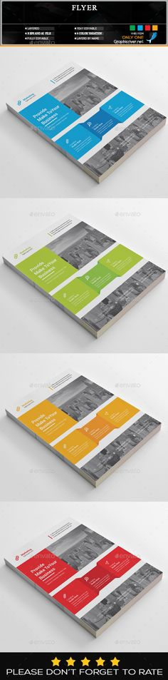 Corporate Flyer Design Template - Corporate Flyers Design Template Vector EPS, AI Illustrator. Download here: https://graphicriver.net/item/flyer/19354037?ref=yinkira