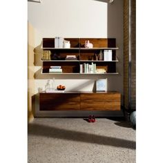 BluDot WonderWall Shelves. 300$ for 2. Too expensive but I like the use of wood.