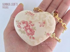 Heart of Roses macaron bag jewellery pouch proposal ideas by xunnux,
