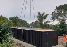 Container pool range and pricing - Container Pools NZ Shipping Container Swimming Pool, Container Pool, Pool Cover Roller, Hardwood Decking, Pool Designs, Exterior Paint, Swimming Pools, Range, Outdoor Decor