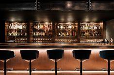 "Tom Dixon designs ""darkly theatrical"" Himitsu cocktail lounge in Atlanta Tom Dixon, Lounge Decor, Bar Lounge, Hookah Lounge, Lounge Ideas, Bar Interior, Interior Decorating, Interior Design, Bar A Vin"