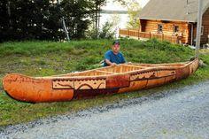 TRURO, N. – A master Mi'kmaq craftsperson is going to build a birch bark canoe with four interns in Millbrook to mark Canada's anniversary. Atlantic Canada, Truro, Birch Bark, Nova Scotia, Outdoor Furniture, Outdoor Decor, Canoe, Hammock