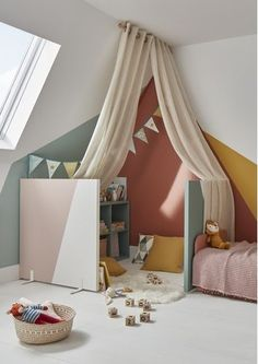 Big Girl Rooms, Baby Boy Rooms, Toddler Rooms, Baby Bedroom, Girls Bedroom, Baby Room Design, Kids House, Room Inspiration, Home