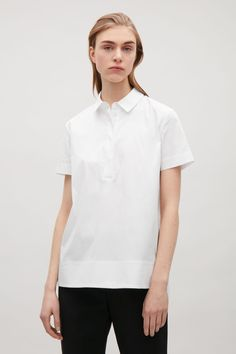 COS | Cut-out tunic shirt