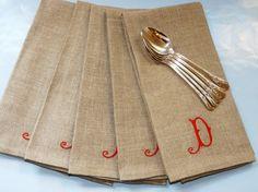 parties pinterest monogrammed napkins monograms and napkins - Linen Monogrammed Napkins