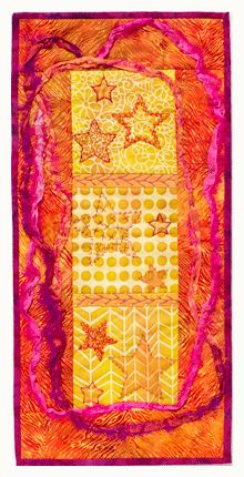surface design - fabric painting with sun printing gail ellspermann Fabric Paper, Fabric Painting, Diy Projects To Try, Craft Projects, Quilting Tutorials, Quilting Ideas, Sun Prints, Textiles, Fabric Manipulation