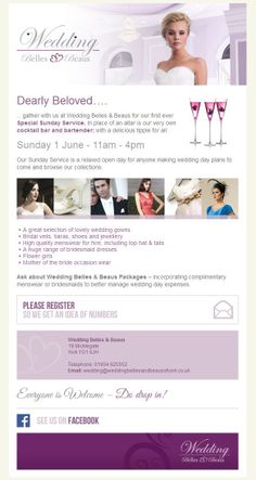 402389810360 7 Best Wedding Belles & Beaus Events images | Event flyers ...
