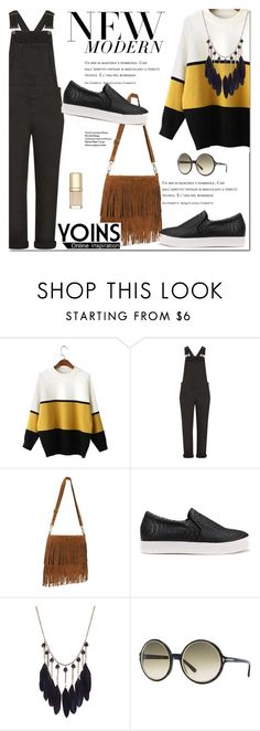 """""""Fall Sweater With YOINS"""" by fattie-zara ❤ liked on Polyvore featuring Topshop, Tom Ford, Dolce&Gabbana and yoinscollection"""